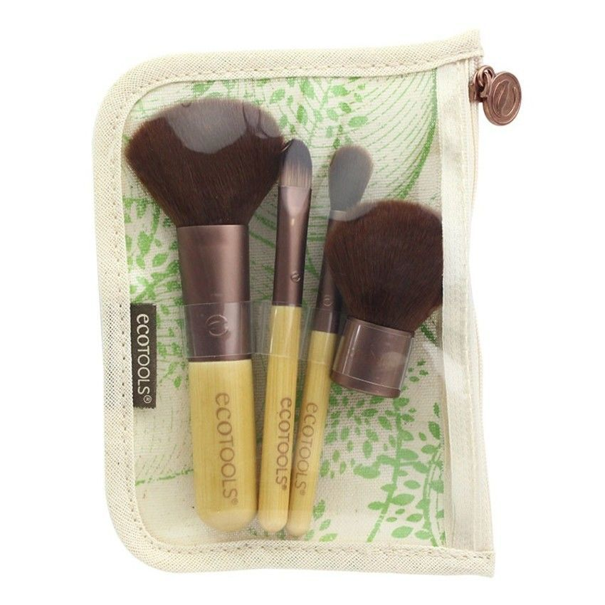 Ecotools Five Piece Travel Collection Viisiosainen matkasivellinsetti