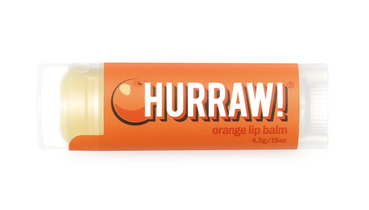 HURRAW! Appelsiini huulivoide