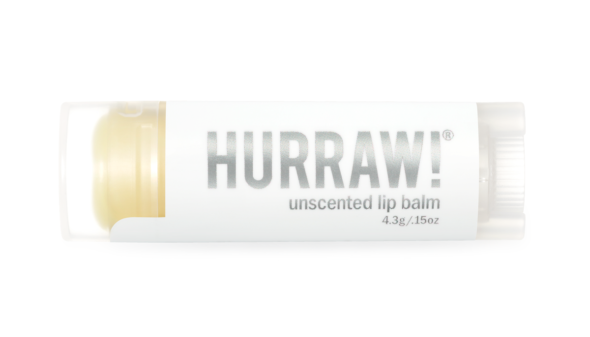 HURRAW! Unscented Huulivoide (Hajusteeton)