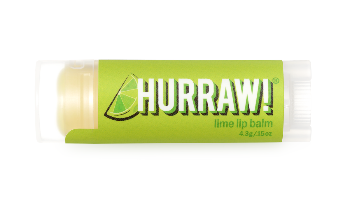 Hurraw! Lime Huulivoide