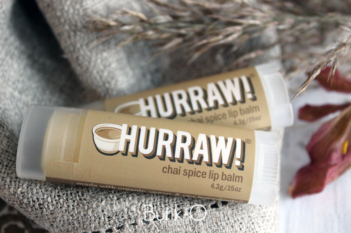 HURRAW! Chai Spice Huulivoide - Butik-O