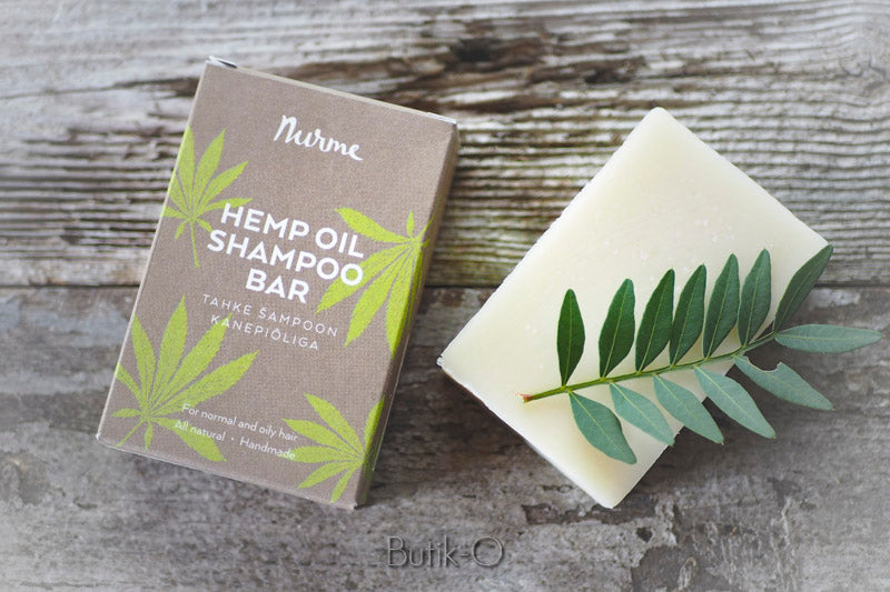 Nurme hemp oil shampoo bar - hamppuöljyshampoopala 100g