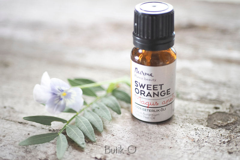 Nurme sweet orange essential oil - makea appelsiini eteerinen öljy 10 ml