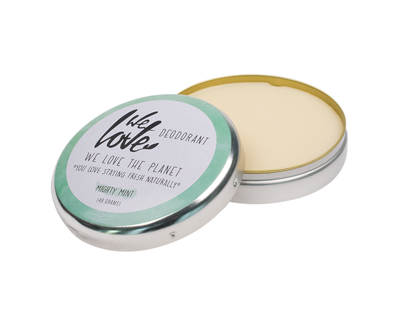 We Love The Planet Mighty Mint 100% luonnonmukainen deodorantti - Alumiiniton