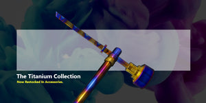 Titanium Rainbow Dabber Tool For Wax Oil Sale