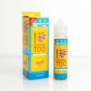 I Love Cookies Too 50ml Short Fill by Mad Hatter
