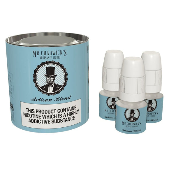 Artisan Blend 10ml x3 by Mr Chadwicks