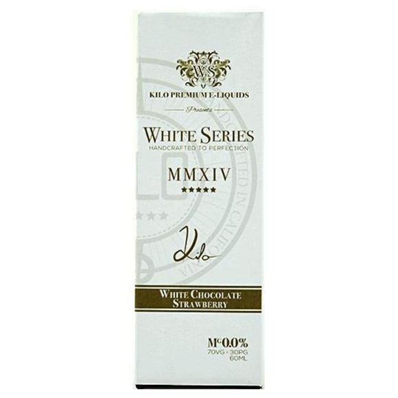 White Series White Chocolate Strawberry - 50ml Short fill by Kilo Premium