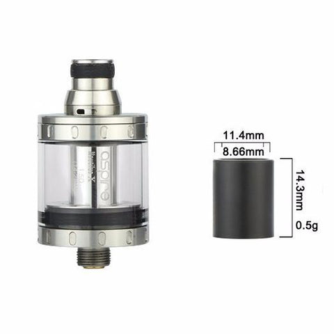 Aspire Nautilus X & Aspire PockeX Smooth Wide Bore Drip Tip / 510 Adaptor