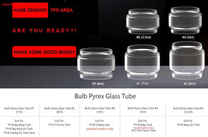 Bulb Extension Glass by Smok