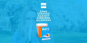 Aero® Launches Game Changer Against Airborne Allergens