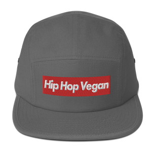 Hip Hop Vegan Box Logo Camper Hat