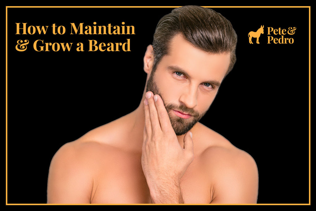 How to Maintain and Grow a Beard