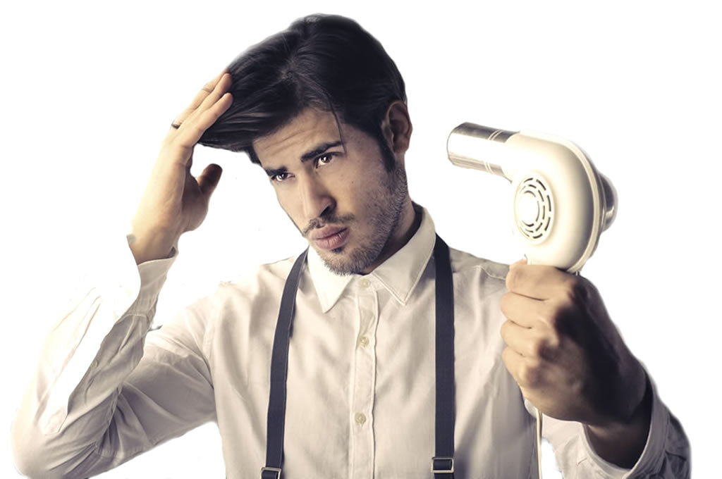 7 Men's Hairstyling Tips To Master The Hair Dryer!