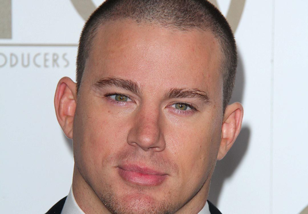 channing tatum buzz cut
