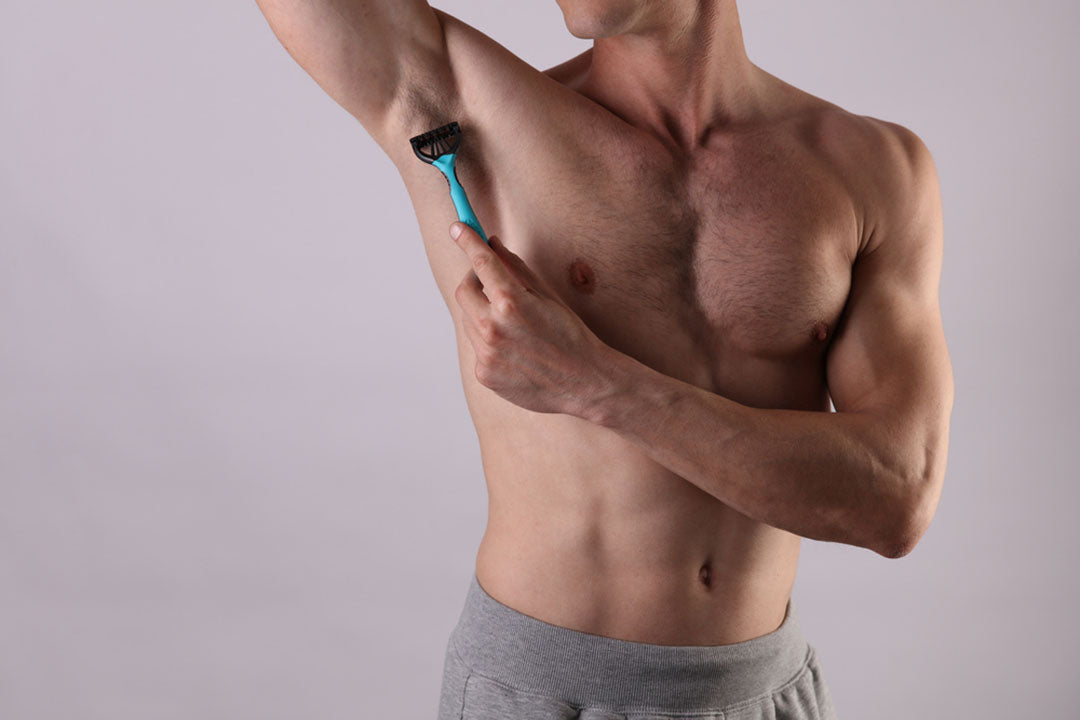 Should Men Shave Their Armpits? article on easy steps to trim armpits