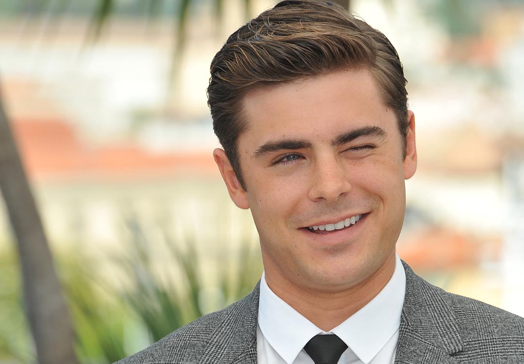zac efron at paperboy photocall