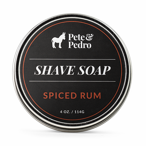 Shave Soap Spiced Rum