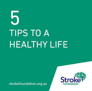5 tips to a healthy life brochure (pack of 10)