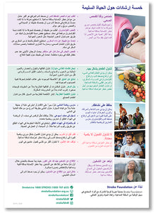 About Stroke fact sheet - العربية (Arabic)