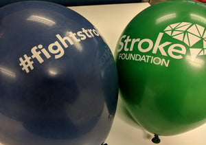 Stroke Foundation Balloons