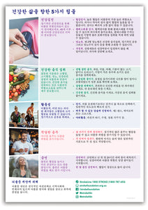 About Stroke fact sheet - 한국어 (Korean)