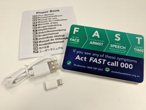F.A.S.T. mobile phone powerbank