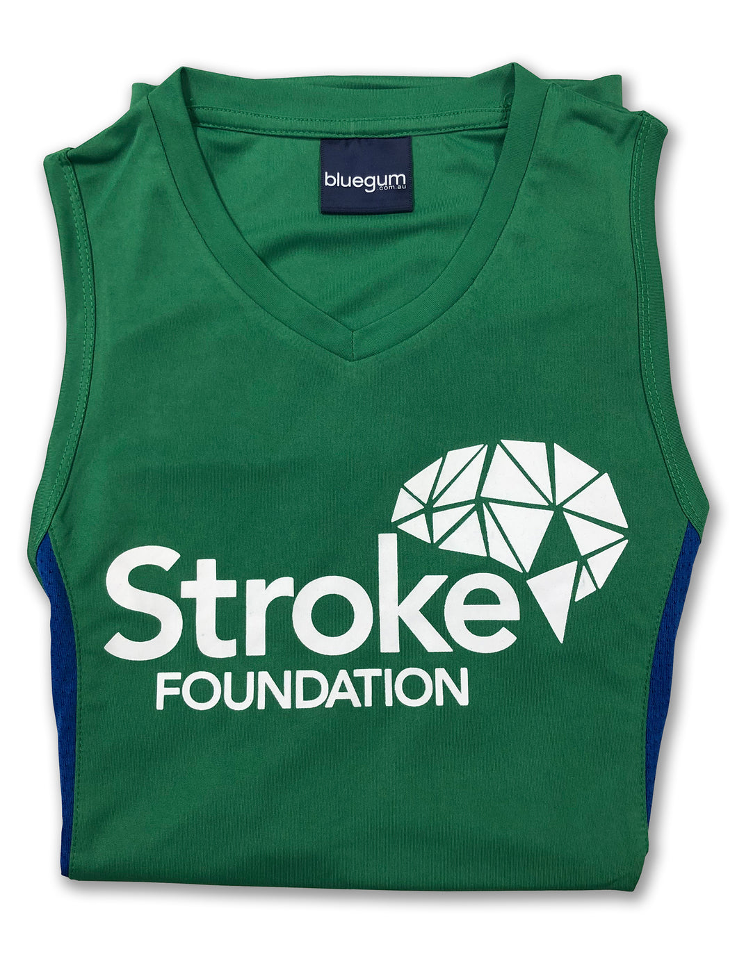 Men's Running Singlet (Green)