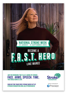 National Stroke Week 2020 campaign poster