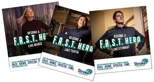 2020 F.A.S.T. Hero stickers