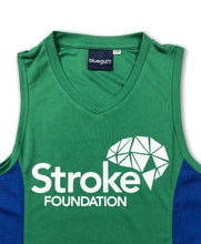 Women's Running Singlet (Green)