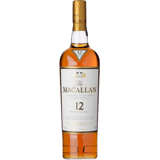[Macallan] 12-Years Sherry Oak (700ml) - easydrinks.co