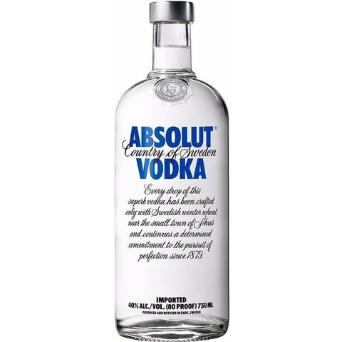 Absolut Vodka (700ml) - easydrinks.co