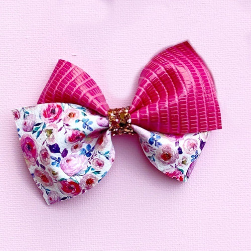Two tone Thick Lola Bows