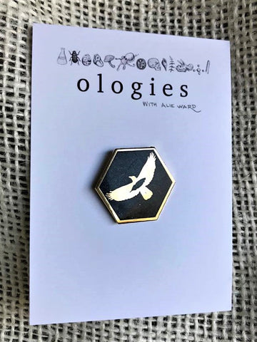 Ornithology Enamel Pin