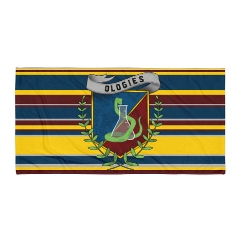 Ologies Striped Crest Towel
