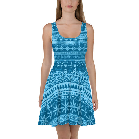 Ice Blues Better Sweater Dress