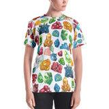 Gemology (Gems) All Over Print Shirt (Womens)