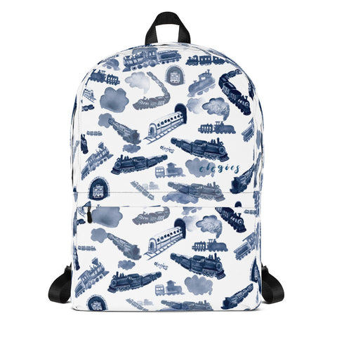 Ferroequinology (Trains) Backpack