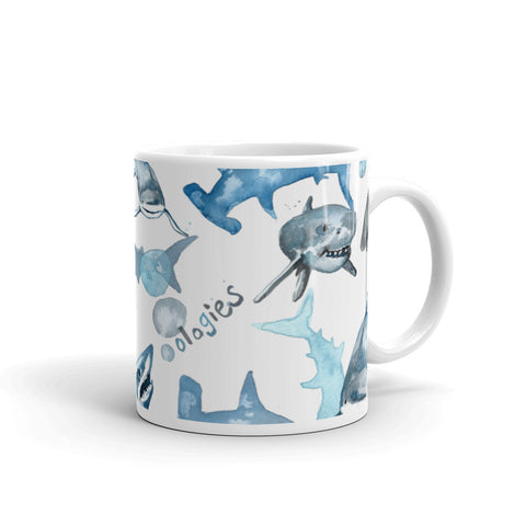 Selachimorphology (Sharks) Mug