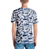 Ferroequinology (Trains) Vneck Tee (Mens)