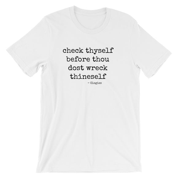 Check Thyself Shirt - Hematology
