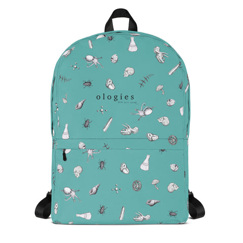 Ologies Teal Backpack