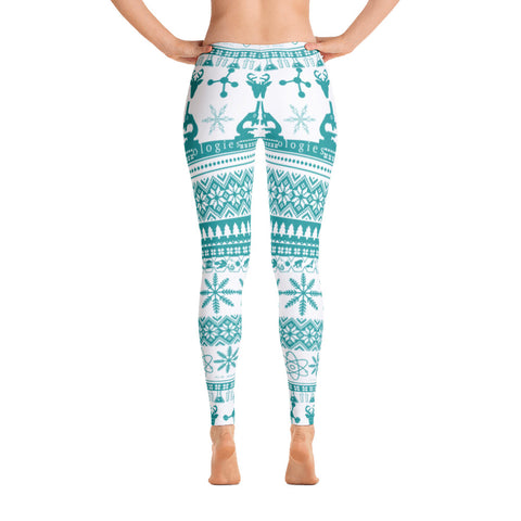 Blue & White Better Sweater Leggings