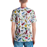 Ornithology (Birds) VNeck Tee (Mens)
