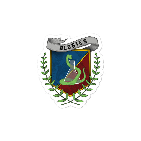 Ologies Crest Sticker