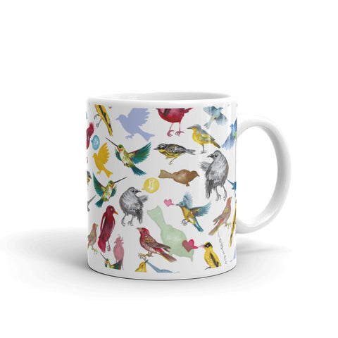 Ornithology (Birds) Mug