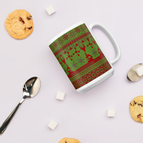 Red & Green Better Sweater Mug