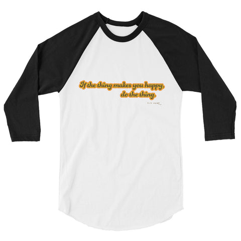 Do The Thing Baseball Tee (Light Torso)