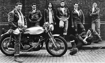 Origins of the Café Racer - The Ton Up Boys
